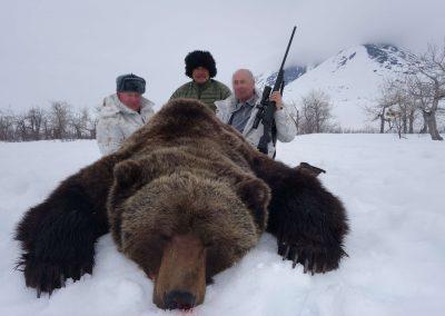 Hunting brown bears with Kulu Safaris in Magadan, Russia