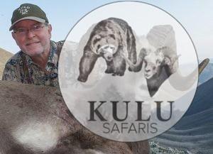 Snow sheep hunting in Magadan, Russia with Kulu Safaris outfitter