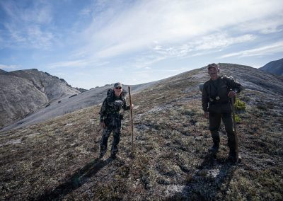 Latham Myers hunting in Magadan, Russia with Kulu Safaris