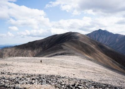 Passing the ridges of Magadan, Russia with Kulu Safaris