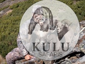 Mikhail Rabinovich snow sheep hunting with Kulu Safaris, Magadan, Russia