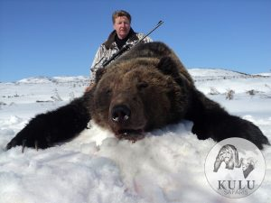 Brown bear hunt in magadan, Russia with kulu Safaris