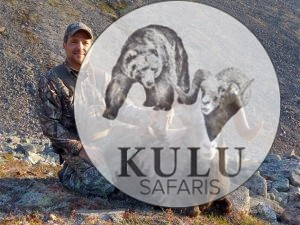 Ruiz Gallodron snow sheep hunting in Magadan, Russia with Kulu Safaris